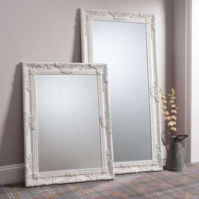 Gallery Direct Hampshire Leaner Mirror Cream
