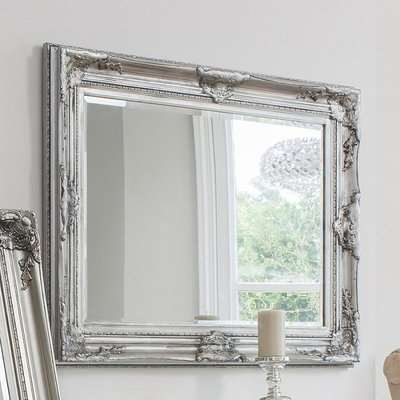 Gallery Direct Harrow Rectangle Mirror Silver