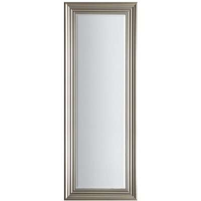 Gallery Direct Haylen Mirror Full Length - Brushed Steel