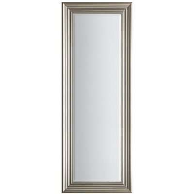 Gallery Direct Haylen Mirror Full Length - Brushed Steel | Outlet