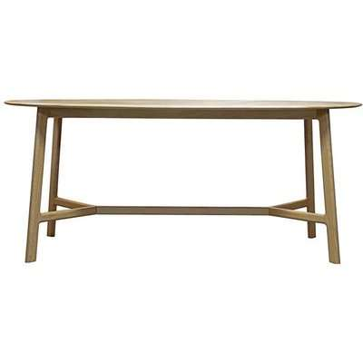 Gallery Direct Madrid Oval 6 Seater Dining Table