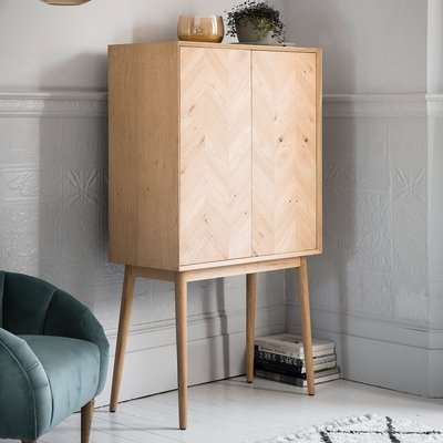 Gallery Direct Milano Cocktail Cabinet
