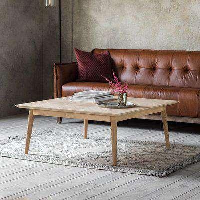 Gallery Direct Milano Oak Scandi Console Table