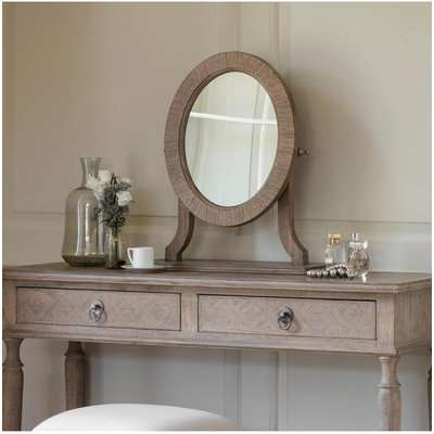 Gallery Direct Mustique Dressing Table Mirror | Outlet