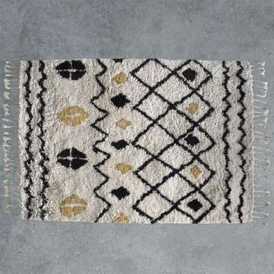 Gallery Direct Navaho Patterned Rug in Cream