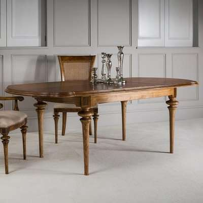 Gallery Direct Spire Dining Oval Extending Table