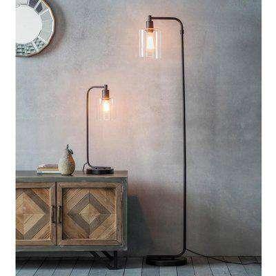 Gallery Direct Toledo Industrial Floor Lamp