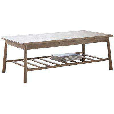 Gallery Direct Wycombe Rectangle Coffee Table / Black