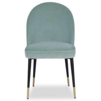 Liang & Eimil Alfa Chair (a set of 2) - Gainsborough Agate Green Velvet