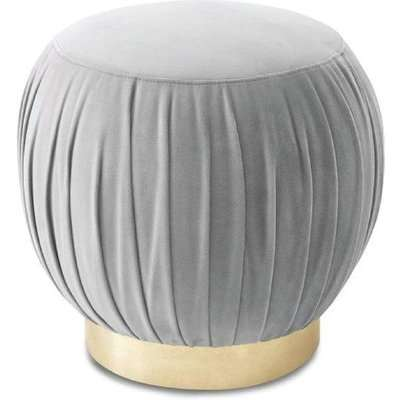 Liang & Eimil Charlie Footstool / Stainless Steel