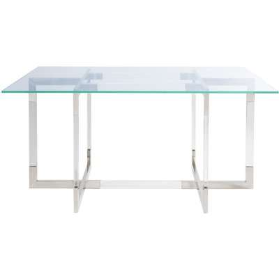 Liang & Eimil Rothko Dining Table Polished Stainless Steel