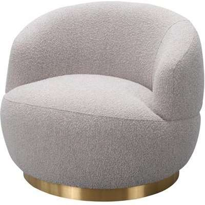 Liang & Eimil Vitale Chait Boucle Taupe Occasional Chair