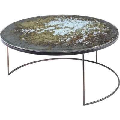 Libra Fitzroy Antique Mirror Coffee Table Large