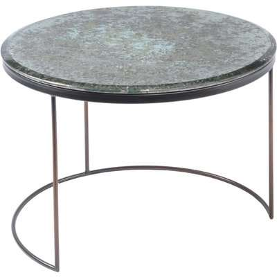 Libra Fitzroy Antique Mirror Coffee Table Small