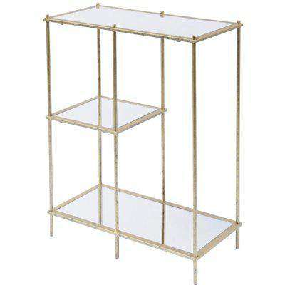 Libra Mylas Modular Shelving Unit With Mirrored Panels   Outlet