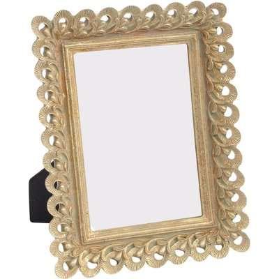 Libra Odette 4x6 Inch Resin Photo Frame Gold