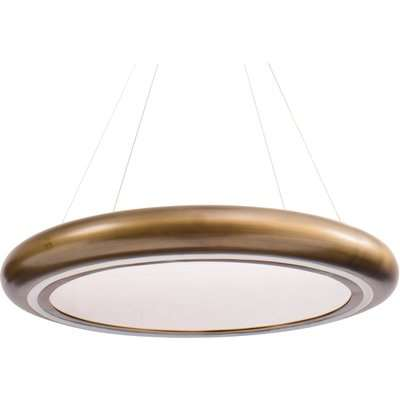 Libra Small Gold Ring Statement Chandelier LED 65W