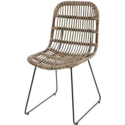 Libra Toba Dining Chair Rattan
