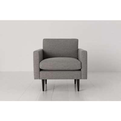 Swyft Model 01 Linen Armchair in Shadow