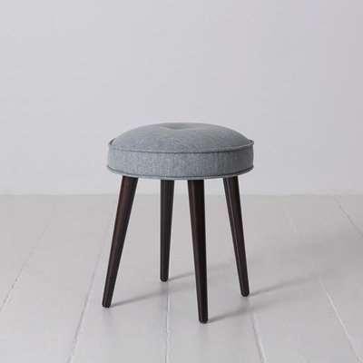 Swyft Model 00 Linen Footstool in Seaglass