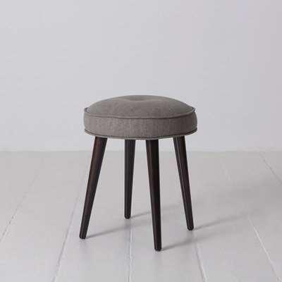 Swyft Model 00 Linen Footstool in Shadow