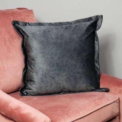 Native Home Luxury Grey Velvet Cushion Cover