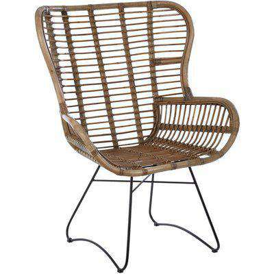 Olivia's Rattan Lounge Chair
