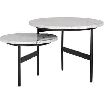 Richmond Lexington Reversible Set of 2 White Coffee Table