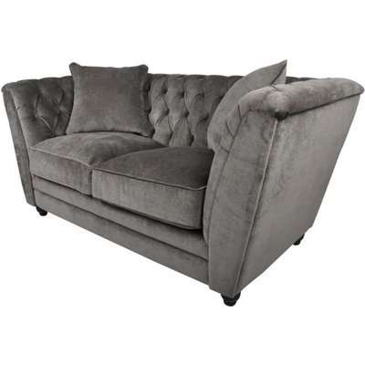RV Astley Ely Sofa Mouse Chenille Grey / 3 Seater