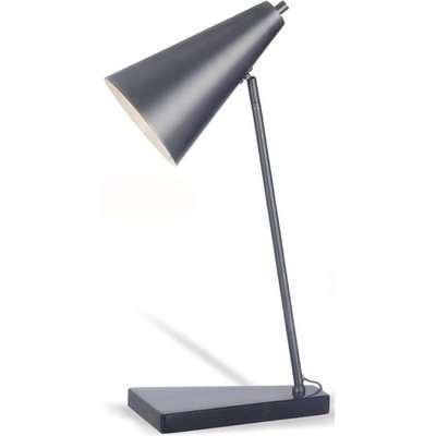 RV Astley Henley Desk Lamp in Matte Black & Marble | Outlet