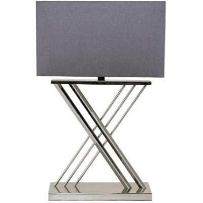 RV Astley Roma Table Lamp Shade Mule Nickel