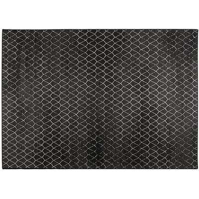 Zuiver Crossley Outdoor Rug Black / Black