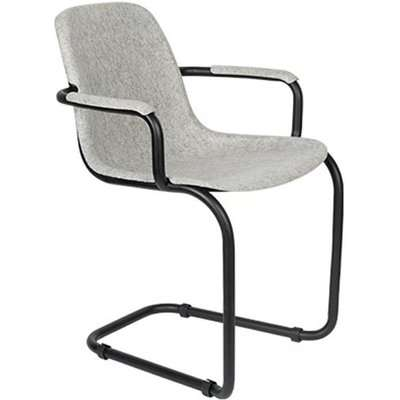 Zuiver Thirsty Dining Chair Graphite Grey / Graphite Grey