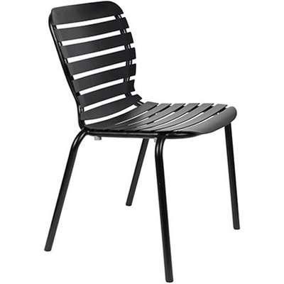 Zuiver Vondel Outdoor Chair Black / Black