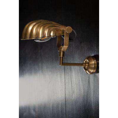 Art Deco Shell Wall Light