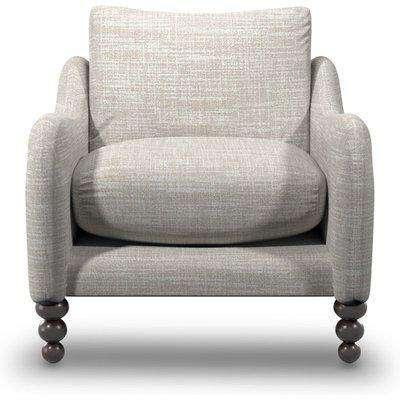 Beautiful Boucle Fabric Armchair