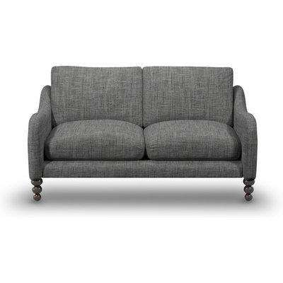 Beautiful Large 3-Seater Sofa In Alabaster Boucle Fabric