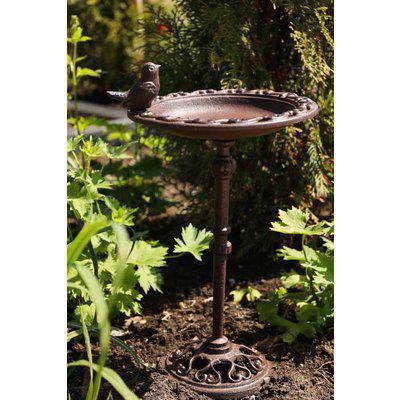 Bird Bath On A Stand