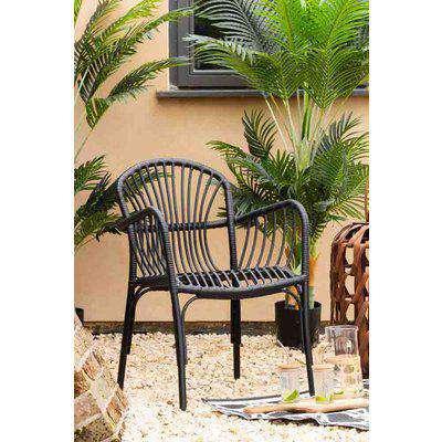 Brea Black Garden Chair