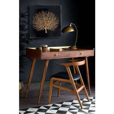 Classic Gold Trimmed Desk