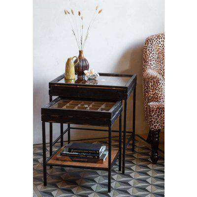 Rockett St George Curation Display Nest Of Side Tables RSG2094