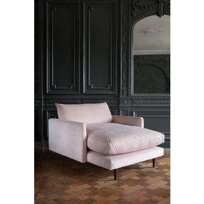 Fabulous Velvet Snuggler Chaise