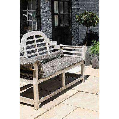 Garden Lounger Cushion With Flower Print