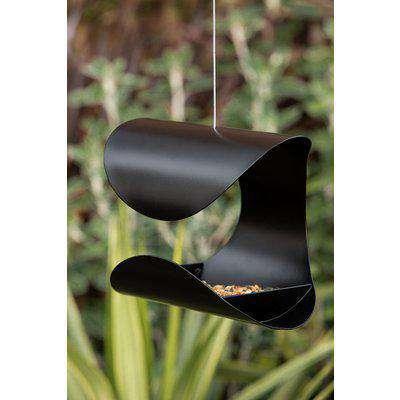 Hanging Black Bird Feeder