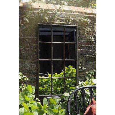 Indoor Or Outdoor Windowpane Mirror