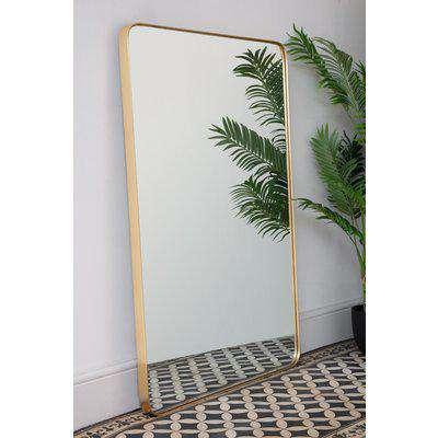 Large Rectangular Framed Wall Mirror