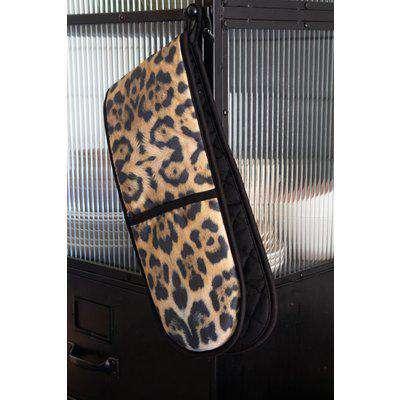Leopard Print Double Oven Glove