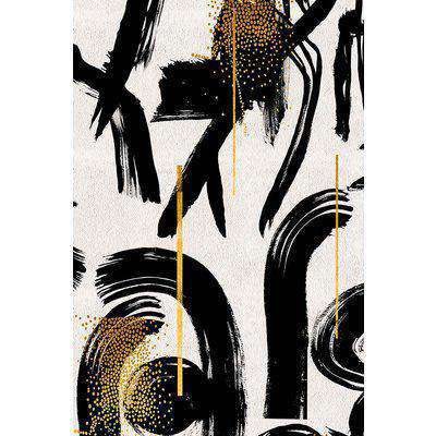 Mind The Gap Gesterual Abstraction Wallpaper - WP20332 - ROLL