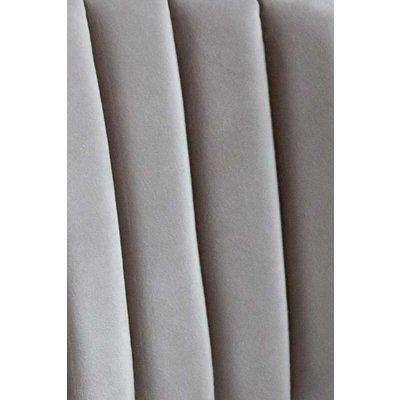 Mink Grey Sample For Curved Back Velvet Dining Chair & Bar Stool