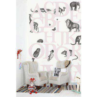 Mr Perswall Wallpaper - Hide & Seek Collection - ABC You - Pink P120405-6